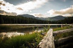 Lac perdu Image libre de droits