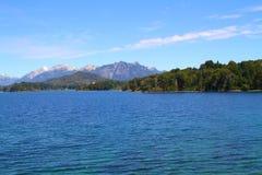 Lac Perito Moreno - Bariloche Image libre de droits