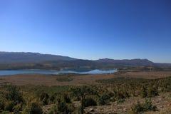 Lac Peruca dans des Alpes de Dinaric (Croatie) Images libres de droits