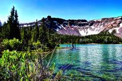 Lac peu trois creeks Photographie stock libre de droits