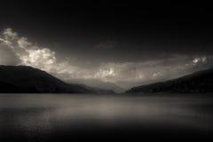 Lac Phewa, Pokhara, Népal Photographie stock