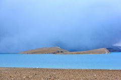 Lac Phumayumtso tibet Photo stock