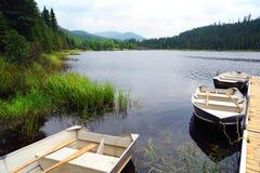 Lac Piché - Forêt Montmorency Stock Photography