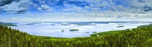 Lac Pielinen Photos stock