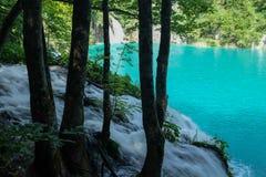 Lac Plitvice Images libres de droits