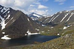 Lac polaire de montagne Photographie stock libre de droits