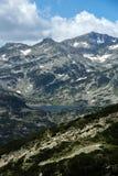 Lac Popovo, montagne de Pirin Photo libre de droits