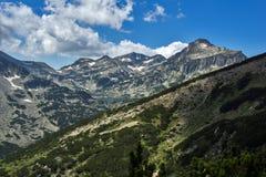 Lac Popovo, montagne de Pirin Photos libres de droits
