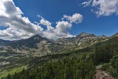 Lac Popovo, montagne de Pirin Image libre de droits