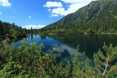 Lac Poprad Photo stock