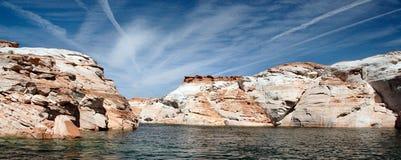 Lac Powell de l'eau Photographie stock libre de droits