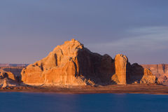 Lac Powell sunset Image libre de droits