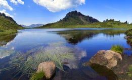 Lac Pozze photo libre de droits
