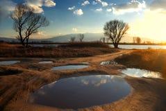 Lac près de Sofia 2 Photographie stock