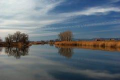Lac près de Sofia Photo stock