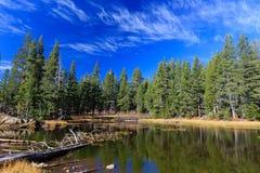 Lac près du lac Tahoe Image stock