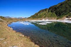 Lac Prato Photographie stock