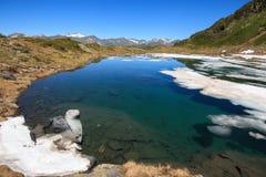Lac Prato Photos libres de droits