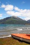 Lac Puelo Images libres de droits