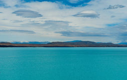 Lac Pukaki Photo stock