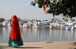 lac pushkar Image stock