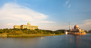Lac Putrajaya, Malaisie Images stock