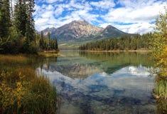 Lac pyramid Image libre de droits