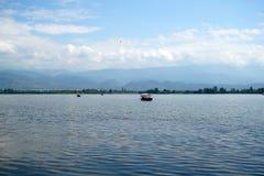 Lac Qionghai dans le ¼ ŒChina de Xichangï Photos libres de droits