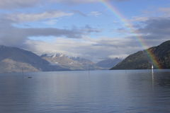 Lac Queenstown photos stock