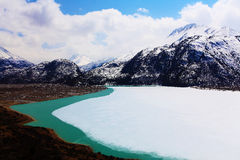 Lac Ranwu Photo libre de droits