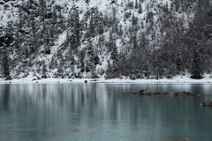 Lac Rawu d'abord ensoleillé Photos stock