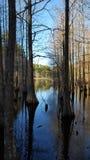 Lac reculé Photos libres de droits