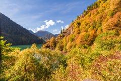 Lac Ritsa abkhazia Photo libre de droits