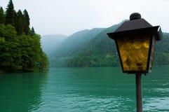 Lac Ritsa, Abkhazie Image libre de droits