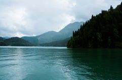 Lac Ritsa, Abkhazie Image stock