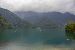 Lac Ritza Image libre de droits