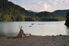 Lac Ritza Photo stock