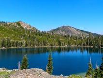 Lac rond Photo libre de droits