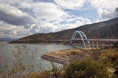 Lac Roosevelt en Arizona Photo stock