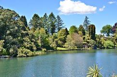 Lac rotorua, nouveau Zeland Photographie stock