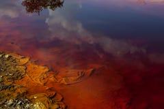 Lac rouge 20 Images libres de droits