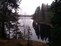 Lac Ruuhijarvi Image libre de droits