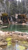 Lac s'arrêtant Image libre de droits