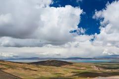 Lac sacré plateau photo libre de droits