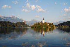 Lac saigné Images stock