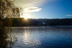 Lac saigné, saigné, Slovénie, l'Europe Photos stock