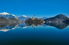 Lac saigné Photographie stock libre de droits