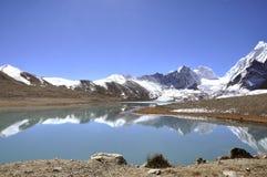 Lac saint en Inde Photographie stock