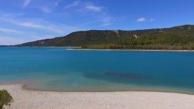 Lac Sainte-Croix en Provence banque de vidéos