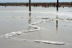 Lac salé Image libre de droits